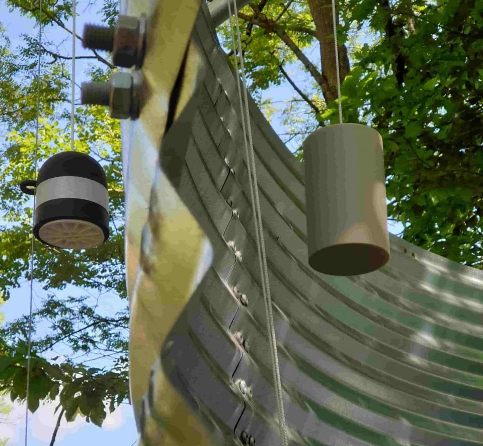 Water silo niveau meter